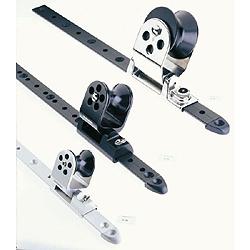 Schaefer Twin-Sheet Lead Block, Fits 1-1/4 x 3/16 Track, 2 Sheave Size, 5/8 Max. Line Dia., Silver Slider, 3,500lb. SWL Sale $224.99 SKU: 140173 ID# 32-98 UPC# 740507003752 :