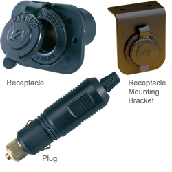 Premium 12V Receptacle and Plug