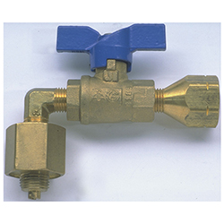 """Camping Gaz"" European Cylinder Adapter to U. S. LPG System"