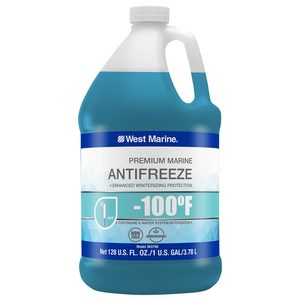 Pure Oceans -100°F Engine & Water System Antifreeze, 1 Gallon