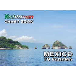 Mariners Ink Yachtsman's Mexico to Panama Chartbook