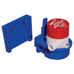 Rule Industries Rule 500gph Transom-Mount Livewell Pump Sale $99.99 SKU: 4768586 ID# 25DTB UPC# 42237085573 :