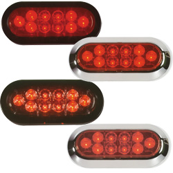 LED Oval Tail Lights
