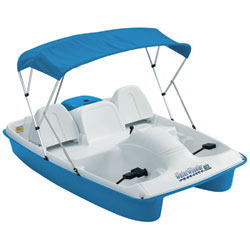 WaterWheeler ASL Pedal Boat with Canopy