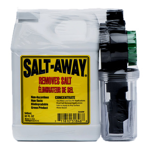 Salt-Removing Treatment Kit with Mixing Unit