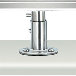 Single Deck Socket Locking Mount for Magma Rectangular Grill