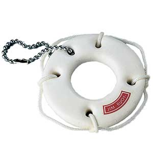 Life Saver Floating Key Chain