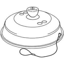 Lid Assembly for Magma Marine Kettle Gas Grills