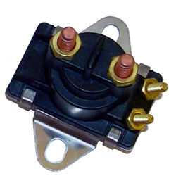 Solenoid 18-5817D, Curved Bracket