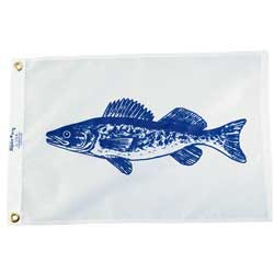 "Walleye Fish Flag, 12"" x 18"""