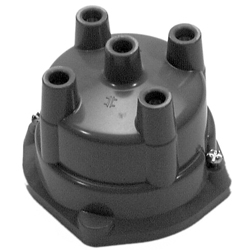 Distributor Cap Only, 4 Cylinder Delco