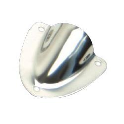 Whitecap Stainless-Steel Midget Vent