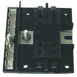 Ato Style 4 Gang Fuse Block with Ground