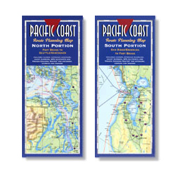 Pacific Coast Route Planning Maps