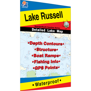 Russell Fishing Map, Lake