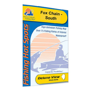 Fox Chain-North Fishing Map