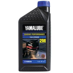 Yamalube 2-Cycle TCW3 Engine Oil, 1 Quart