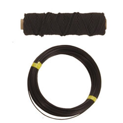 Black Nylon Braid, 100', 300lb.