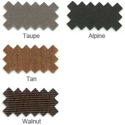 "Sunbrella® Fabric, 46"" Wide - By The Linear YARD (Hues of Dark Brown)"
