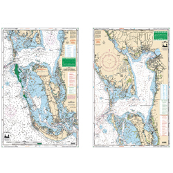 Large-Print Waterproof Charts