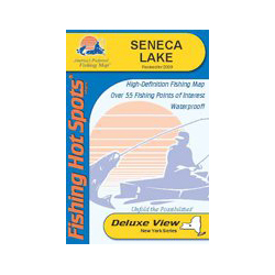 Seneca Lake, New York, Fishing Chart
