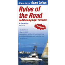 Quick Guide: Rules of the Road and Running Light Patterns