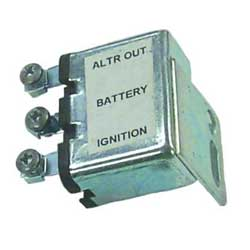 Voltage Regulator Field Relay - Chrysler Inboard
