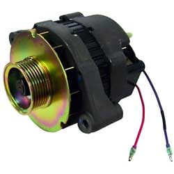 Alternator, Serpentine Pulley 65 Amp for Mercruiser Stern Drives