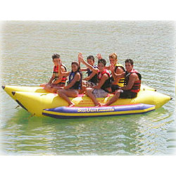 6 Man, 3 by 3 Seater - Water Sled