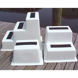 StepSafe™ Polyethylene Dock Steps