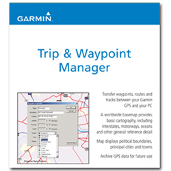 Mapsource  Trip and Waypoint Manager CD