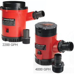 Heavy-Duty 1600, 2200 & 4000 GPH Pumps