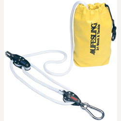 3-to-1 Lifesling Hoisting Tackle for Sailboats