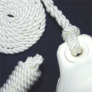 Three-Strand Nylon Fender Whips