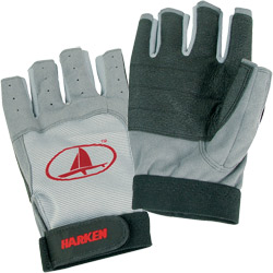3/4-Finger Black Magic Sailing Gloves