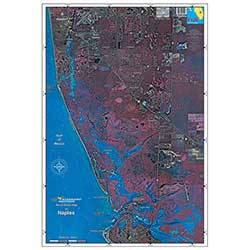 Naples, Florida Laminated Map