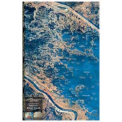 Point a La Hache/Breton Sound, Louisiana Laminated Map