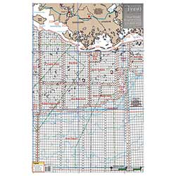 Eugene Isle and Marsh Isle, Louisiana Block and Rig Chart