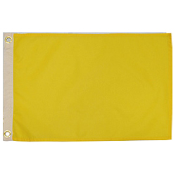 Yellow (Quarantine Flag)
