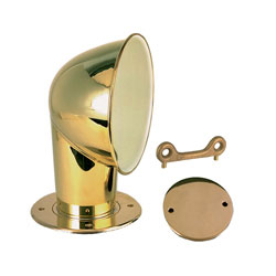 Perko Chrome Plated Brass Cowl Ventilator