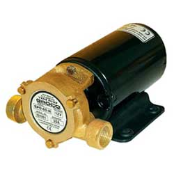 Groco SPO Series 24 Volt DC Vane Pump