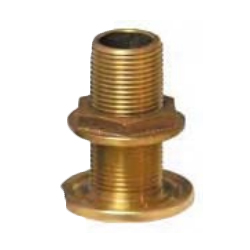 Groco 2 1/2 Bronze Thru-hull Fitting with Nut Sale $184.99 SKU: 6607618 ID# TH-2500-W UPC# 742985064157 :