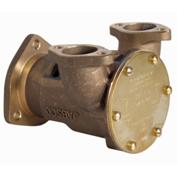 "Engine Cooling Pump, Flange Mount, 1"", Bronze"