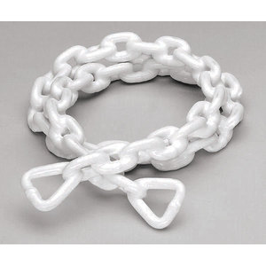 "Anchor Chain 5/16"" x 5', PVC-Coated, White"