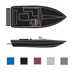 Tournament Style Ski Boats, Inboard Boaters Best Polyester Covers