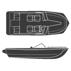 Tri-Hulls, Inboard/Outboard, Road Max Poly/Cotton Covers
