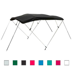 "4-Bow Bimini Top Fabric Only, 54""H, 96""'L, 89""-96""W"