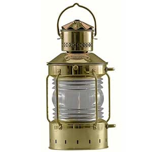 "Anchor Oil Lamp with 5"" Lens"