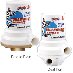 Tournament Series Livewell Pumps