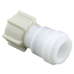 "A. Female Swivel Connector, 5/8"" OD x 3/4"" FGHT"